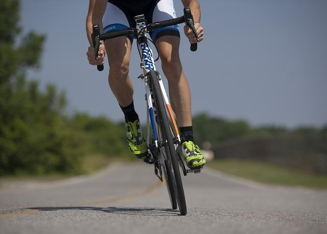 rower w treningu biegacza
