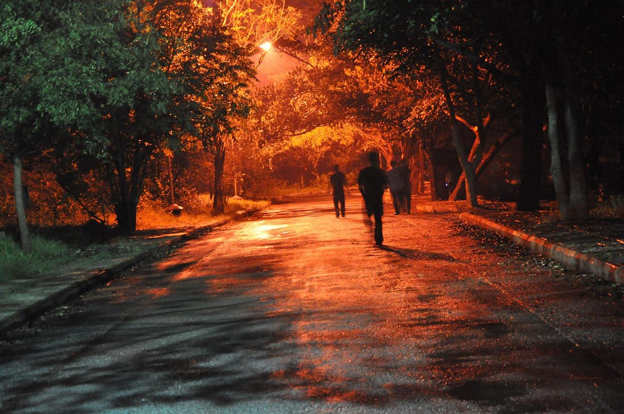bieganie noca