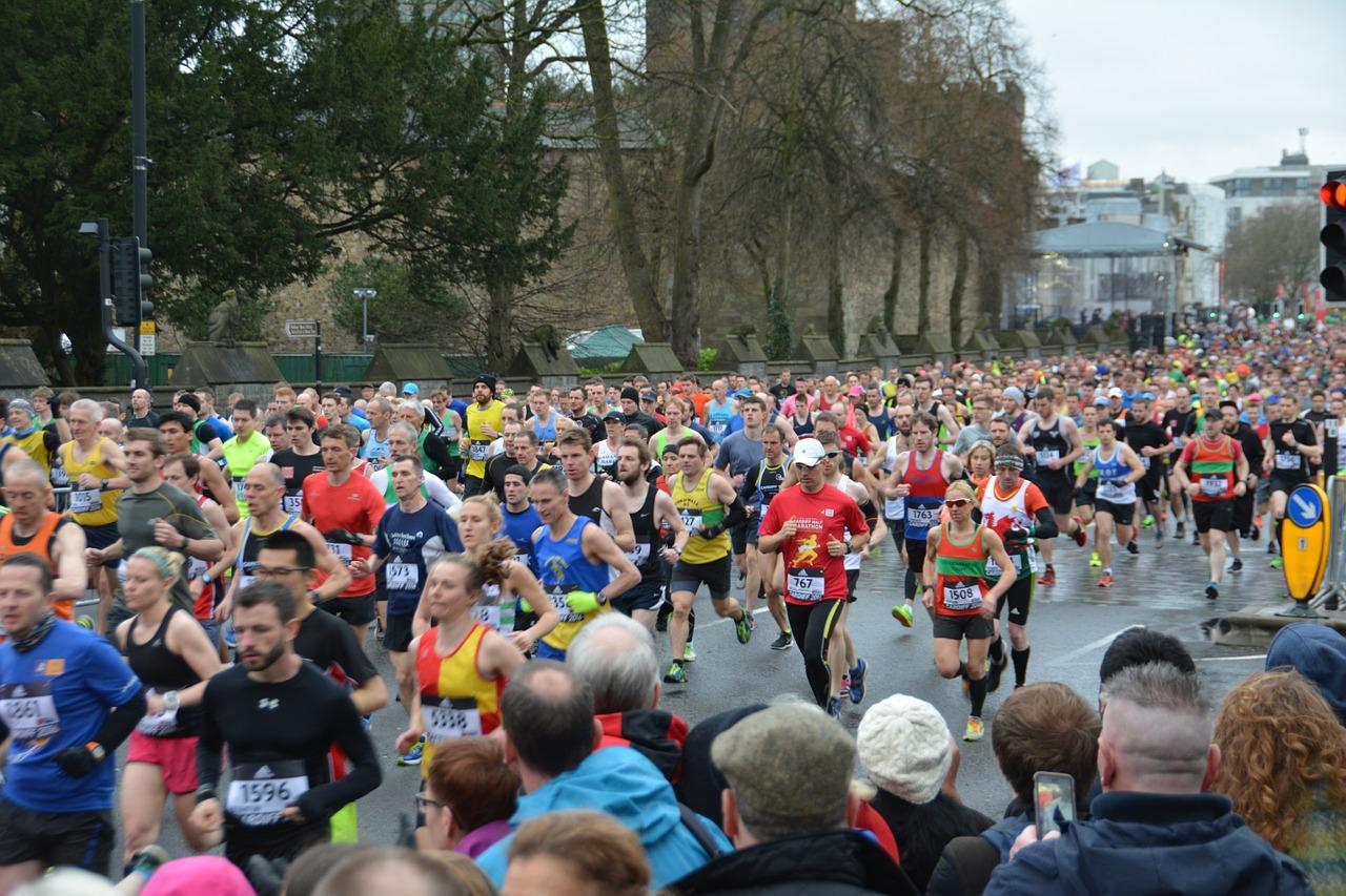 jeść podczas maratonu